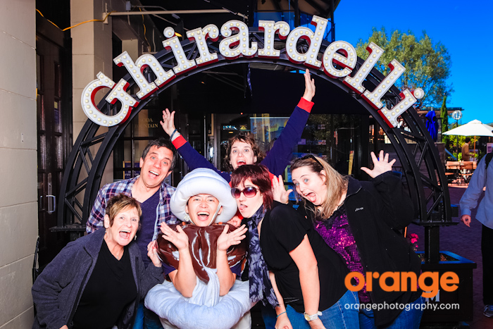 ghirardelli photo booth