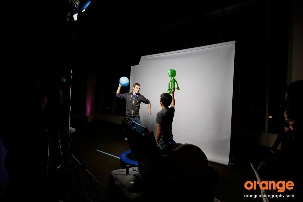 Orange Photography's Original Slow Motion Photo Booth - as seen at the James Franco Roast