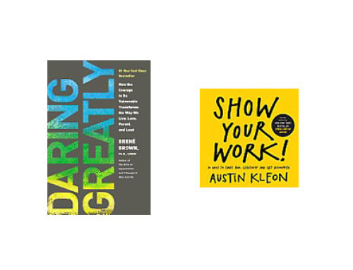 Inspirational reading for photographers: Brené Brown and Austin Kleon