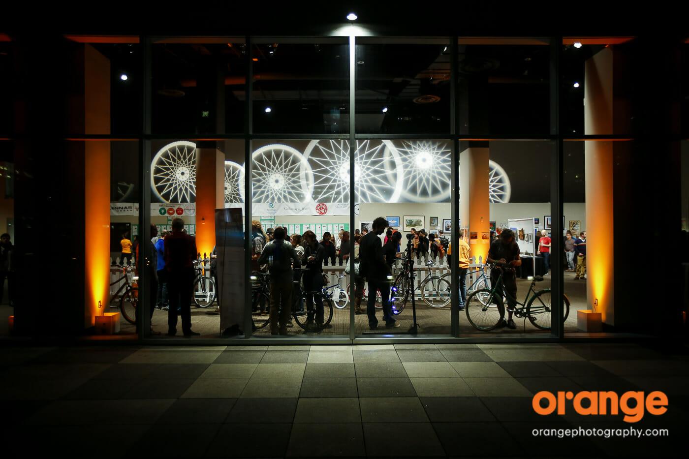 San Francisco Bicycle Coalition - Winterfest 2015 - City View, Metreon, SF, CA, USA