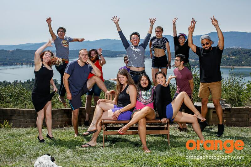 Orange Retreat - Aug 2016 - Lake Mendocino, CA