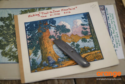 Introduction to Japanese-Style Printmaking with Tom Killion - Green Gulch Zen Center, Muir Beach, CA, USA
