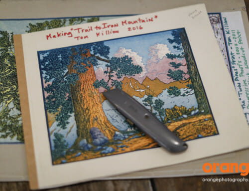 Embracing Creativity: Tom Killion Woodblock printing
