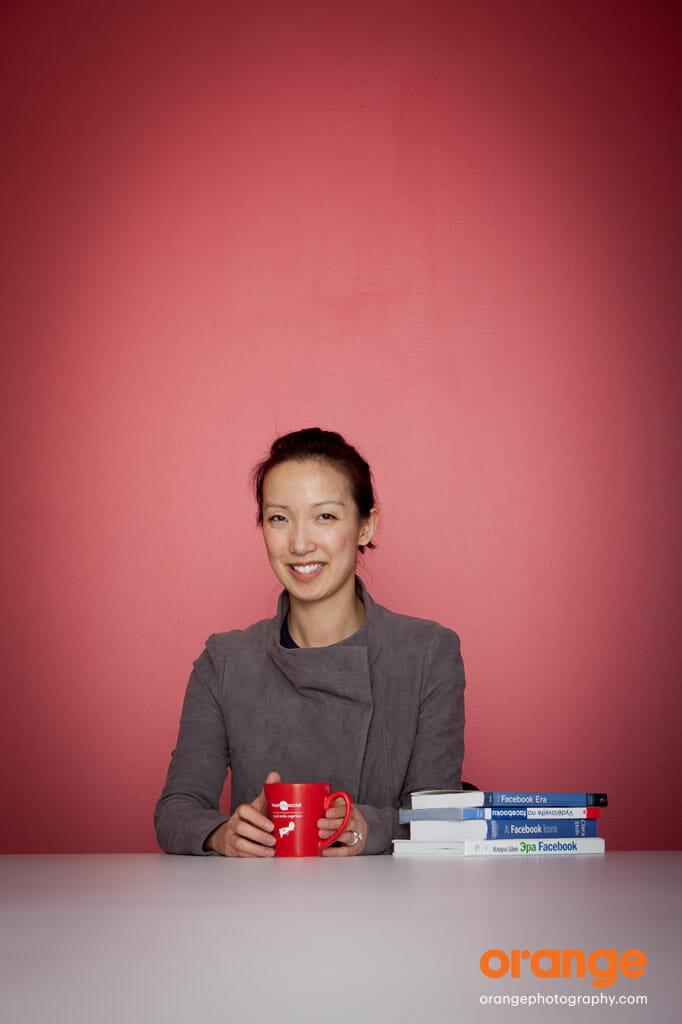 social media portrait of Clara Shih