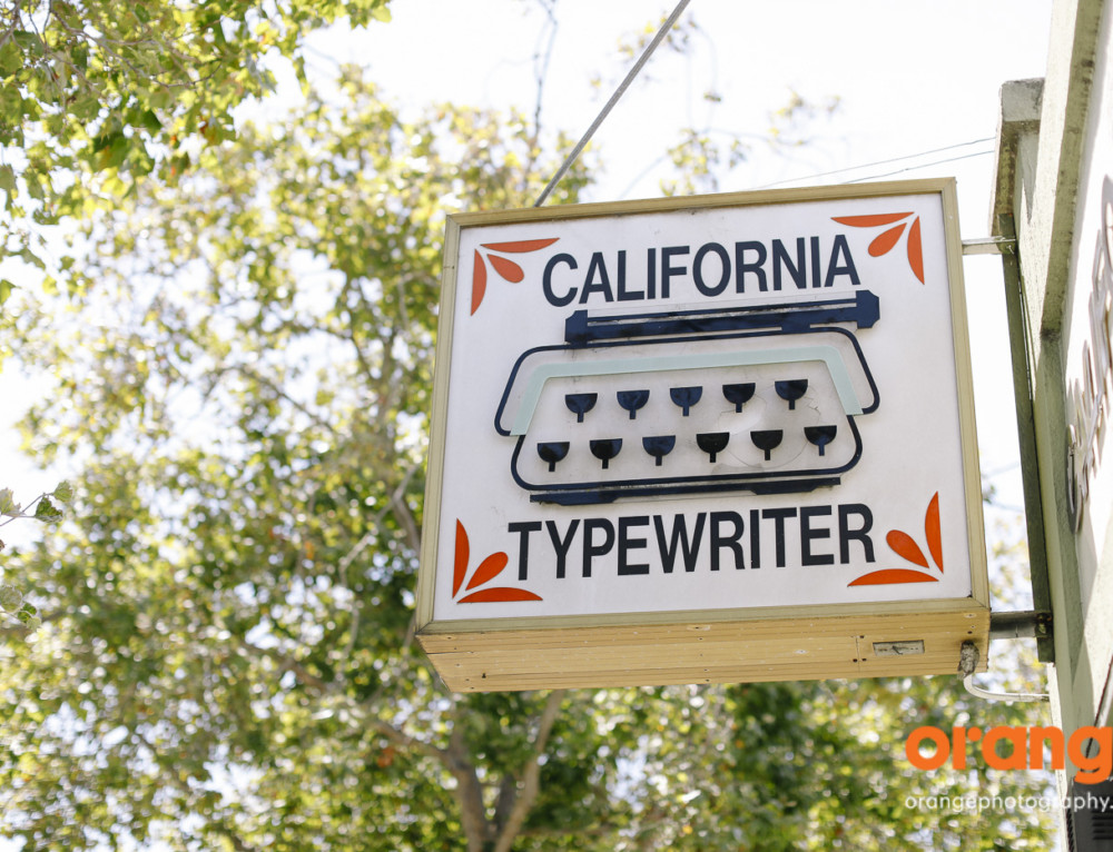California Typewriter: analog inspiration